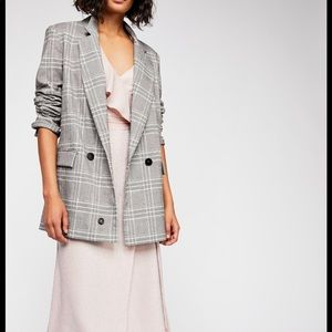 Free People Sporty Oversize Blazer